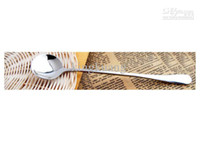 Wholesale coffee spoon stainless steel coffee spoon long handle coffee spoon high taste barware