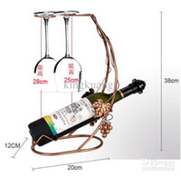 Wholesale European fashion wine upside down cup holder Hanging cup holder goblets frame