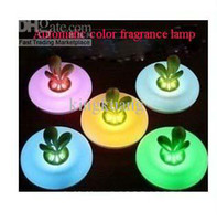 Wholesale Romantic Color Changing Fragrance Lamp Night Light Green leafy aroma lamps Aromatherapy Night light