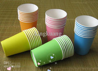 Wholesale Disposable cups colored drinking cups disposable plastic cups thicker colorful cups
