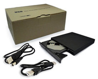 Wholesale Super Slim External Portable USB x CD ROM Drive For Laptop Desktop PC KSA