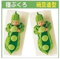 Unisex 6-9 Months Summer Single Layer Baby Receiving Sleepsacks Green Pea Sleeping Bag baby pajamas rompers Free sh