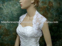 FREE SHIPPING White Lace Wedding Boleros and Shrugs Custom M...