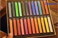 Wholesale 24pcs Hot Easy Temporary Color Hair Dye Crayon Chalk many Colors Salon Kit Set