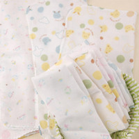 Wholesale Children s double gauze printed handkerchief saliva towel baby handkerchief nursing towel