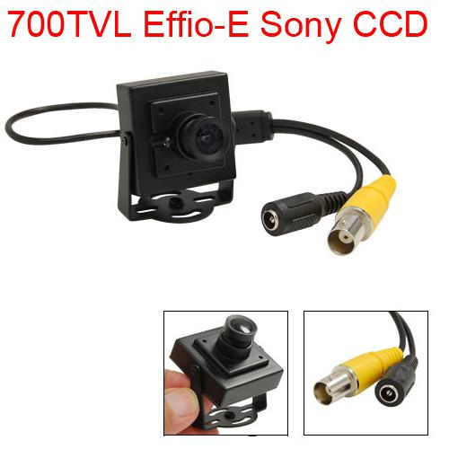 700TVL CCTV Sony Effio CCD Indoor Mini Security Camera 3.6MM Lens ...