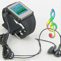 Wholesale Hot Sale Wrist Watch MP3 Player Support Photo Frame Video