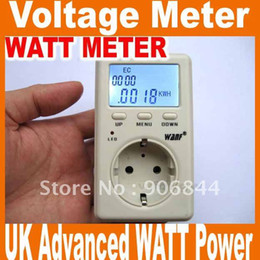 Wholesale energy meter EU Advanced WATT Power Energy Voltage Meter Monitor