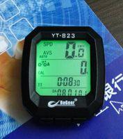 Wholesale Hot selling LCD Waterproof Wireless Cycle Computer Bike Bicycle Odometer Speedometer New yt823 bicycle meter