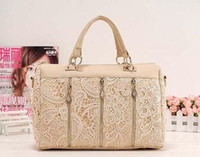 Wholesale 2013 Stylish Lady s MMLOVE PU handbags women bags Lace Bag bags drop shipping W1261