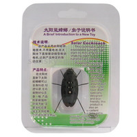 Wholesale 640PCS Solar Cockroach with micro vibration motor BA06