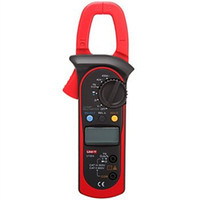 Digital Only ac clamp meter - UNI T UT203 ac dc True rms AC DC Clamp Meter Voltage Current Resistance Frequency