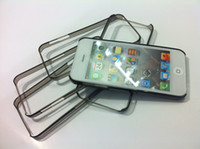 Wholesale 100pcs Colorful thin transparent Bumper Case For iphone5 iPhone G Colors Available