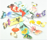 Wholesale New D Butterfly Bookmark Paper Book Clip Wedding Favors Fashion Gifts