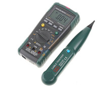 auto wire testers - 2 in MASTECH MS8236 Auto Range Digital Multimeter Network Cable Track Tester Wire Line Telephone