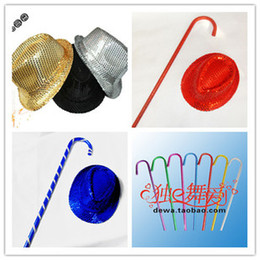 Wholesale Hot Belly Dance Jazz crutches props belly dance cane dance hat dance club Stage Wear