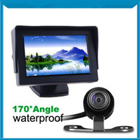 Wholesale CAR REAR VIEW KIT quot TFT LCD MONITOR CAR REVERSING CAMERA DC V MM