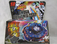 Wholesale New listing DEATH QUETZALCOATL RDF BB119 Beyblade Metal Fusion D Top gyro Set masters Styles