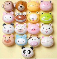 animal toothbrush - Animal cartoon animal cute holder toothbrush rack portable sucker suction ho