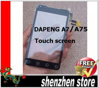 Wholesale Dapeng A7 A75 New Screen Digitizer Replacement for phone ANDROID Free SHip