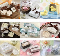 Wholesale Lovely wedding supplies present small gift package mini soap