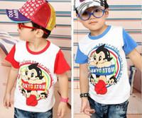 Boy astro shirt - Super cute Summer wear Boy T shirts Children Clothes Cartoon Astro Boy Boy Short Sleeve T shirts