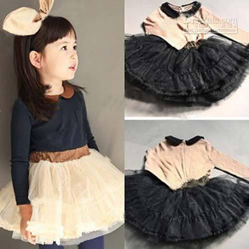Online Cheap Children Clothing Girls Clothes Girl Dress For ...