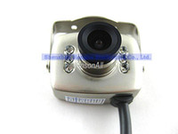 Wholesale whosale Super Micro Monochrome Color Wired CMOS Mini Camera work with monitor or TV cctv ca