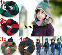 other baby neck ring - CPAM Children neck scarf baby winter knitted wraps shawl neck warmer
