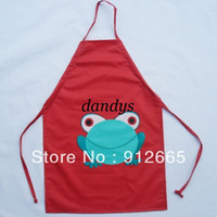 Wholesale 20pcs PVC Children Waterproof Apron Kid s Kitchen Pinafore For Eating Playing years Free Ship