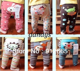Wholesale Boys Girls Sweet Leggings Baby PP Pants Toddler Tights Leg Warmer Infant Tr