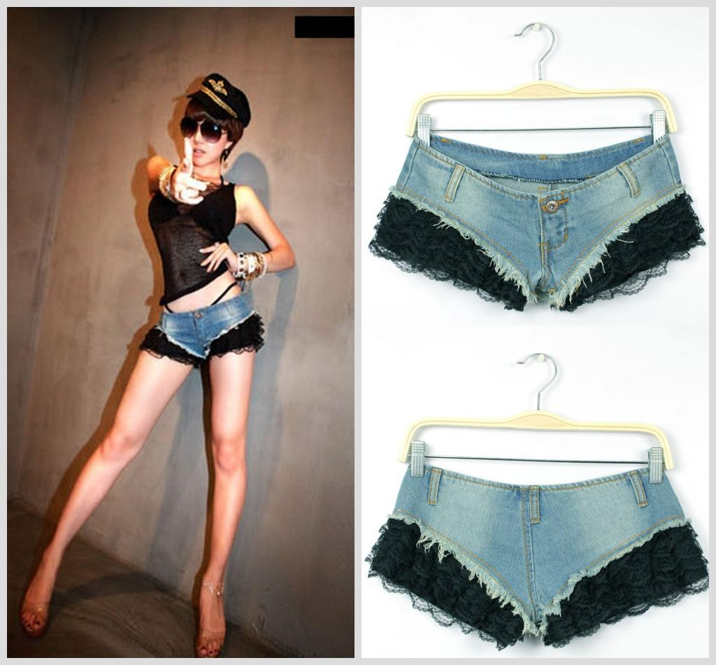 Super Short Shorts Pictures Party Super Short Denim