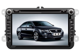 Wholesale 8 inch Car DVD GPS Navi For VOLKSWAGEN VW SEAT SKODA TOURAN JETTA PASSAT B6 EOS Donald