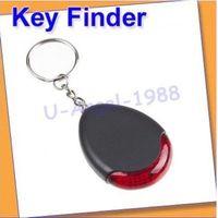 Wholesale look Register Sound sonic Voice Control Key Finder Locator Chain Keychain