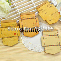 antique writing - 16pcs Creative Antique Romantic Envelop Paper Pad Note Pad Memo Pad Writing Scratchpad Free Ship