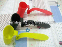 Wholesale 100pcs clip on tea strainer infuser filter sifter assorted colors