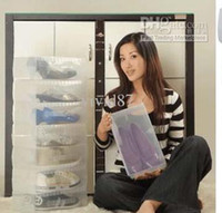 Wholesale Transparent plastic clear storage shoe box and case