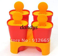 Cheap Ice Cream Makers popsicle mould Best Plastic ECO Friendly ice cube box