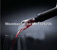 Wholesale 100pcs magic acryl wine decanter aerator pourer improve flavor