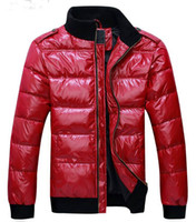 Wholesale 2013 Hottest Sale Stand up Collar Thickening Feather Male Leisure Down Fashion Jacket YZMY