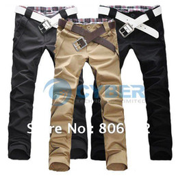 Wholesale Holiday Sale New Style Men s Casual Pants Fashion Designed Trousers Straight Long Pants Free Shippin