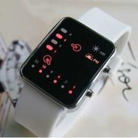 Wholesale New Arrival Binary LED Watch Black Wrist Watches men Digital Led Watch