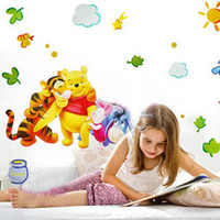 Wholesale DIY Friends amp WINNIE THE POOH Removable Home Decor Wall Decal Sticker Vinyl KIDS