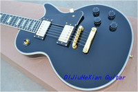 Wholesale custom shop classic balck color electric guitar gold hardware chinese GUITAR