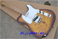 Wholesale Chinese guitar Bald cypress wood tele model electric guitar made in china
