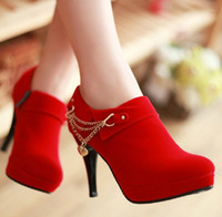 heels - 2013 Spring Fashion high heel sexy zipper waterproof women s shoes