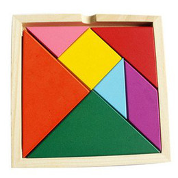 Candice guo! Educational wooden toys colorful changeable jigsaw puzzles game baby toy