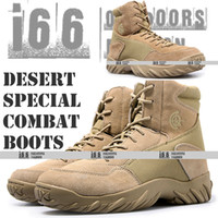 Wholesale USMC Army Military Special Desert Combat Tactical Boots Genuine Mountain boots U S SIZE