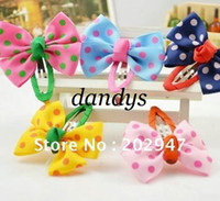 Flower Hair Clips 1-50piece/lot baby girls cute bows Hairclip hairgrip headband children Hair Accessories free shipping wholesale