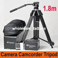 Wholesale 1 M Video Camcoder Camera DSLR Tripod Fluid Pan Head Bowl Professional EI